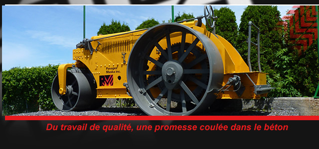 machine outil Pavages Maska
